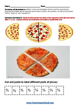 Grade 1  - Arizona - Geometric Shapes - Common Core