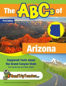 Arizona Handwriting Printables (Manuscript Edition)