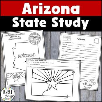 Arizona History, Geography, Symbols and Culture Mini Unit Study