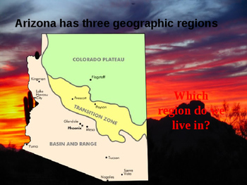 Arizona History PowerPoint - Part I