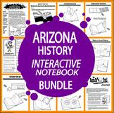 Arizona History Interactive Bundle–21 Arizona State Study Lessons–3rd Grade