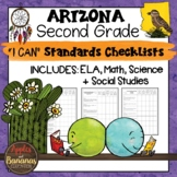 Arizona I Can Standards Checklists Second Grade