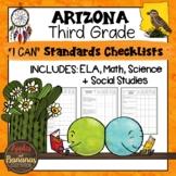 Arizona I Can Standards Checklists Third Grade