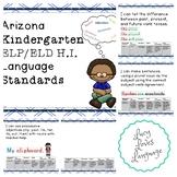 Arizona Kindergarten ELP/ELD Language Standards