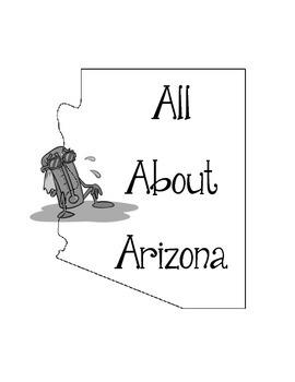 Arizona Lapbook/Interactive Notebook.  United States Geography