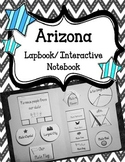 Arizona Lapbook/Interactive Notebook.  United States Geography