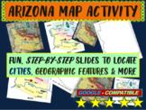 Arizona Map Activity- fun, engaging, follow-along 18-slide PPT