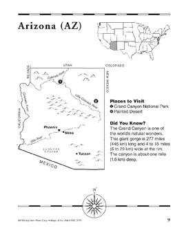 Arizona (Map & Facts)
