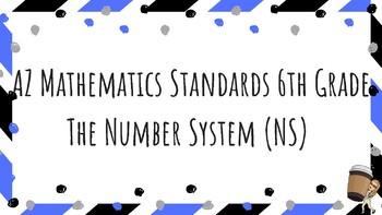 Arizona Math Standards (6th)