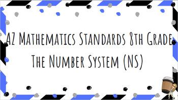 Editable Arizona Math Standards (8th)