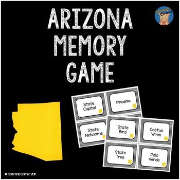 Arizona Memory Game