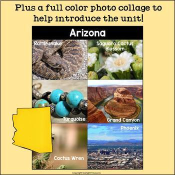 Arizona Mini Book for Early Readers - A State Study