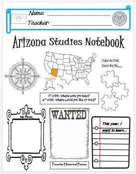 Arizona Notebook Cover