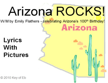 Arizona ROCKS! A Song Celebrating the Southwest