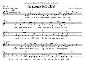 Arizona ROCKS! A Song Celebrating the Southwest