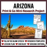 Arizona Research: Print & Go USA Presentation and Speech T