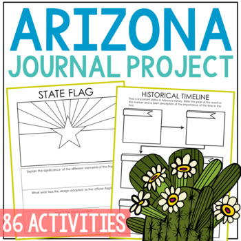 Arizona Research Project, State History, Notebook Journal