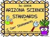 Arizona Science Standards - 3rd Grade