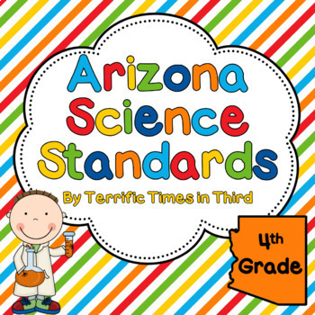 Arizona Science Standards for 4th Grade