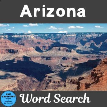 Arizona Word Search