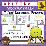 """Arizona Second Grade ELA """"I Can""""  Posters"""