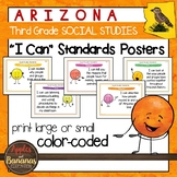 "Arizona Social Studies - ""I Can"" Third  Grade Standards Posters"