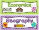 Arizona Social Studies Standards for 3rd Grade