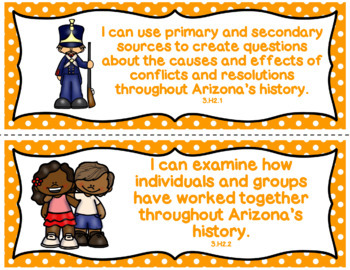 Arizona Social Studies Standards for 3rd Grade