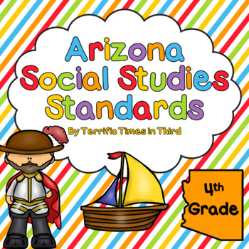 Arizona Social Studies Standards for 4th Grade