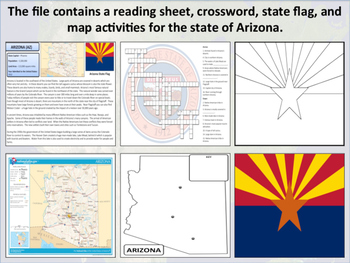 Arizona - State Activity Set