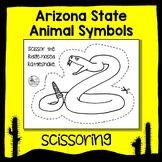 Arizona State Animal Scissoring Sheets - An Animal Literacy Center