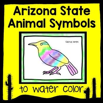 Arizona State Animal Watercolor - A Creative Expression Center