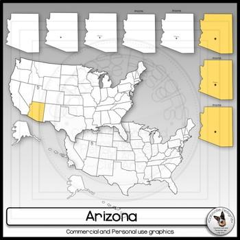 Arizona State Clip Art