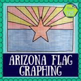 Arizona State Flag Coordinate Plane Picture
