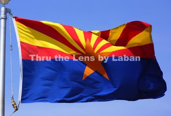 Arizona State Flag Stock Photo #121