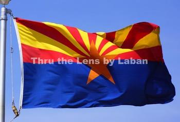 Arizona State Flag Stock Photo #121