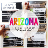 Arizona State Flipbook Interactive Activity for Social Studies