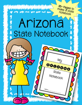 Arizona State Notebook / US State History / Geography