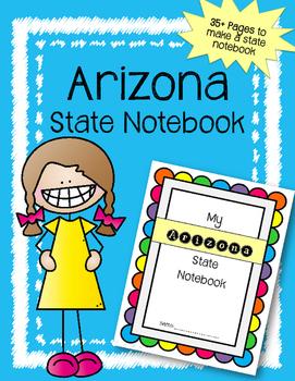 Arizona State Notebook / US State History / Geography