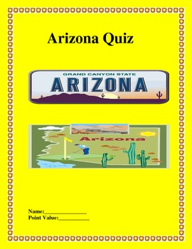 Arizona State Quiz