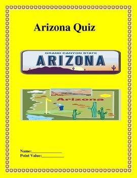 Arizona State Quiz