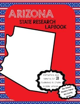 Arizona State Research Lapbook Interactive Project