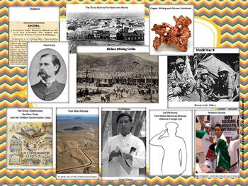 Arizona State Study & Bulletin Board Set