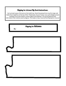 Arizona Unit Study Flipbook