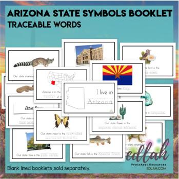 arizona state symbols booklet by melissa schaper tpt