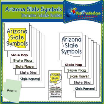 Arizona State Symbols Interactive Foldable Booklets