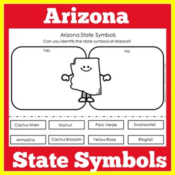 Arizona State Symbols Worksheet