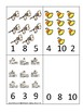 Arizona State Symbols themed Count and Clip Game. Preschool Game