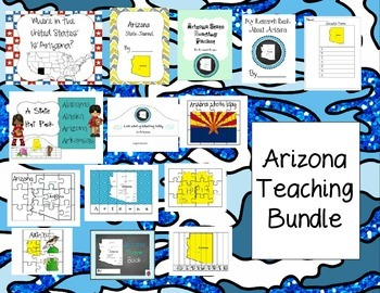 Arizona Themed Bundle- 14 resources