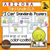 "Arizona Third Grade ELA ""I Can""  Posters"